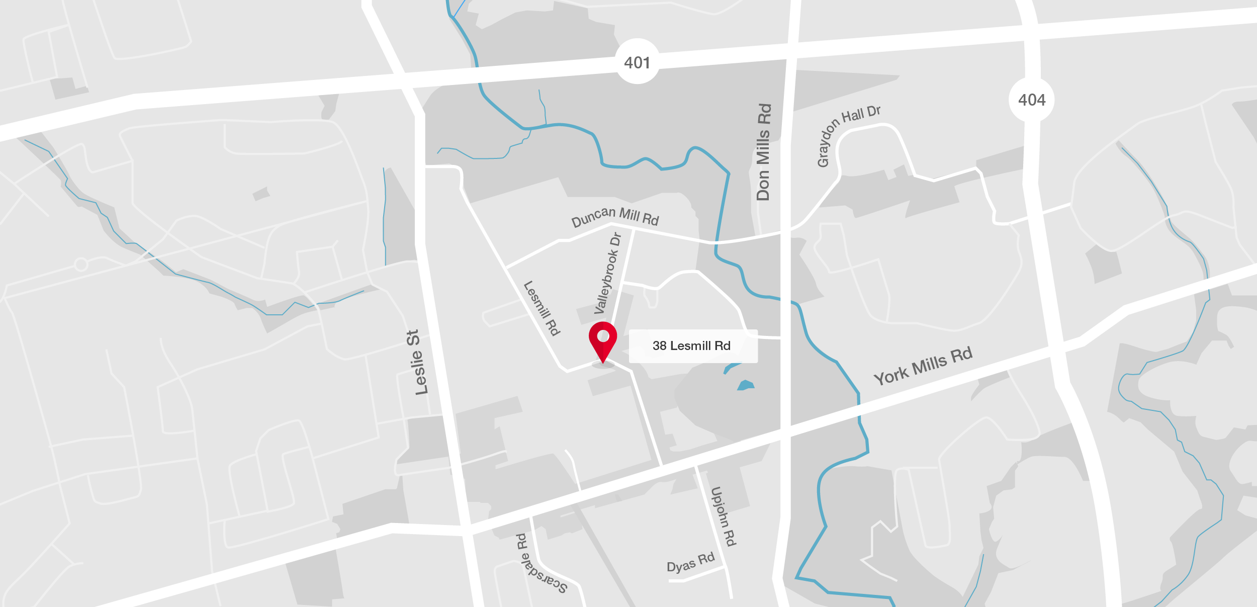 Go to 38 Lesmill Road on Google Maps (opens in new tab)